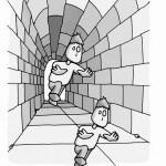 Tunnel Visual Illusion
